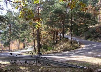 Une los pueblos de Canencia de la Sierra y Miraflores