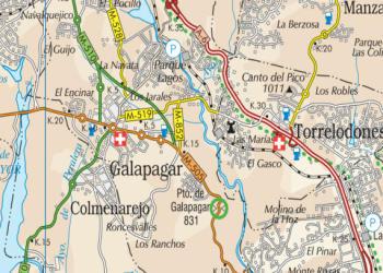 Puertos de montaña de la Comunidad de Madrid